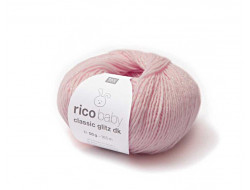 Fil Rico baby Classic Glitz DK - 48% polyamide 48% acrylique 4% polyester