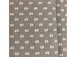 Tissu imprimé Daiwabo - Pois en relief