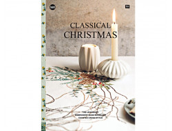 160 - Livre point de croix Classical Christmas, RICO