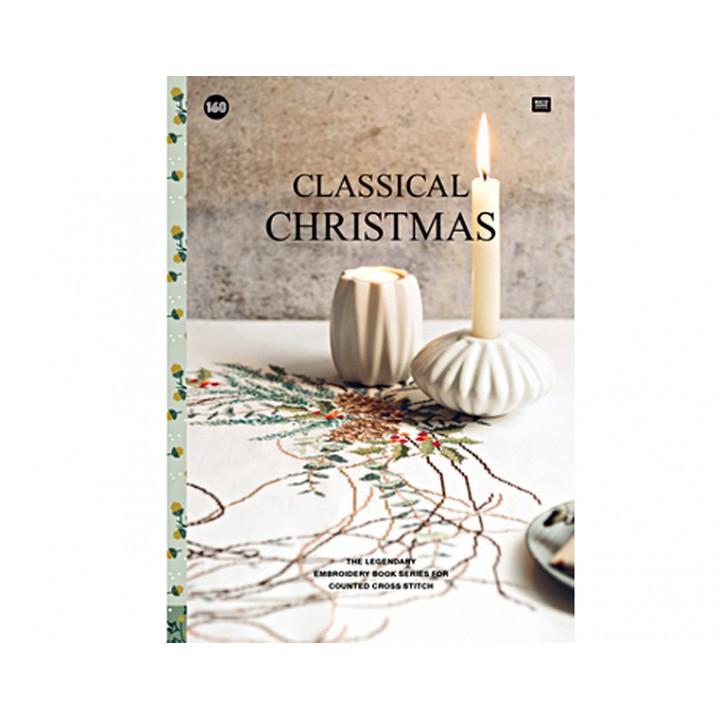 160 - Livre point de croix Classical Christmas, RICO