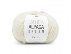 Fil Fashion Alpaca Dream - 64% laine vierge, 30% alpaga, 6% polyamide - Rico