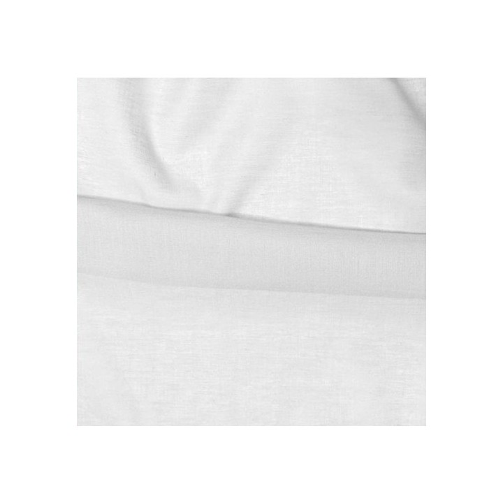 tissu coton fin blanc. Black Bedroom Furniture Sets. Home Design Ideas
