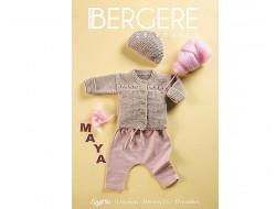 Magazine n°01 Layette 0 - 6 mois : Mérinos 2.5