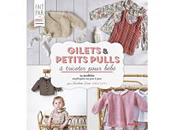Gilets et petits pulls à tricoter pour bébé - Charlov