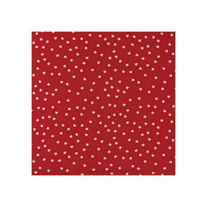 Tissu imprimé Rico - étoiles beiges