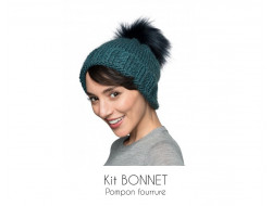 Kit bonnet bleu - Bergère de France