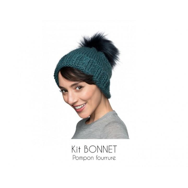 Kit bonnet bleu - Bergère de France