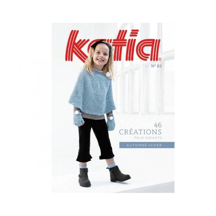 Magazine  laine Katia N°83 Enfants