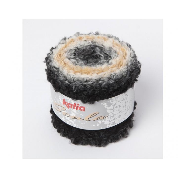 Fil Scala (150 gr) Katia - 65% Acrylique 20% Laine 15% Polyester