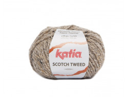 Fil Scotch tweed (50 gr) Katia - 20% Viscose 60% Laine 20% Polyester
