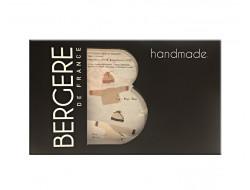 Kit cache-cœur & bonnet 1 à 6 mois - Bergère de France