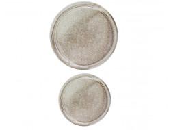 Bouton fantaisie - Géant gris 30 et 44 mm
