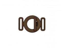 Boucle de ceinture fantaisie - polyester