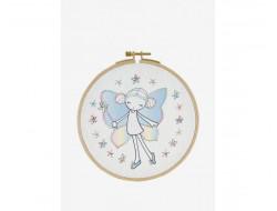 Kit broderie enfant - Fairy