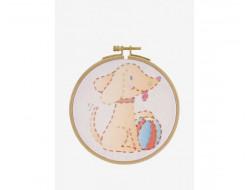 Kit broderie enfant - Le chien