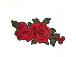 Écusson géant - Rose