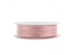 Passepoil lamé rose