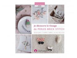 Je découvre le tissage de perles Brick Stitch - Rose Moustache