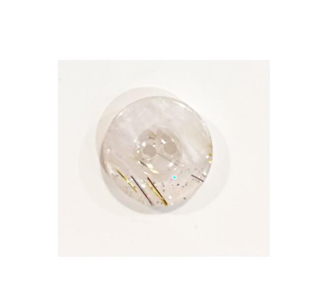 12 mm - blanc paillette