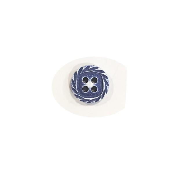 11 mm - spirale bleu