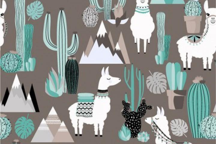 54- Lamas cactus
