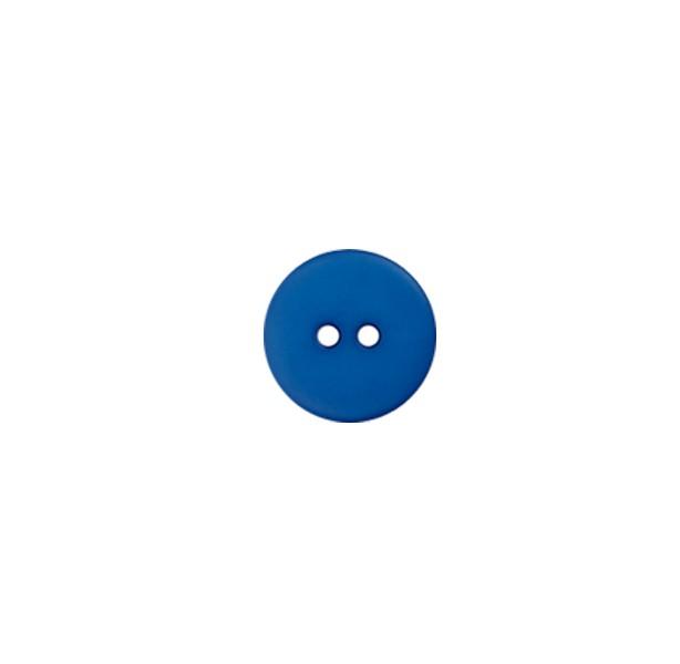 Bouton bleu - 20 mm