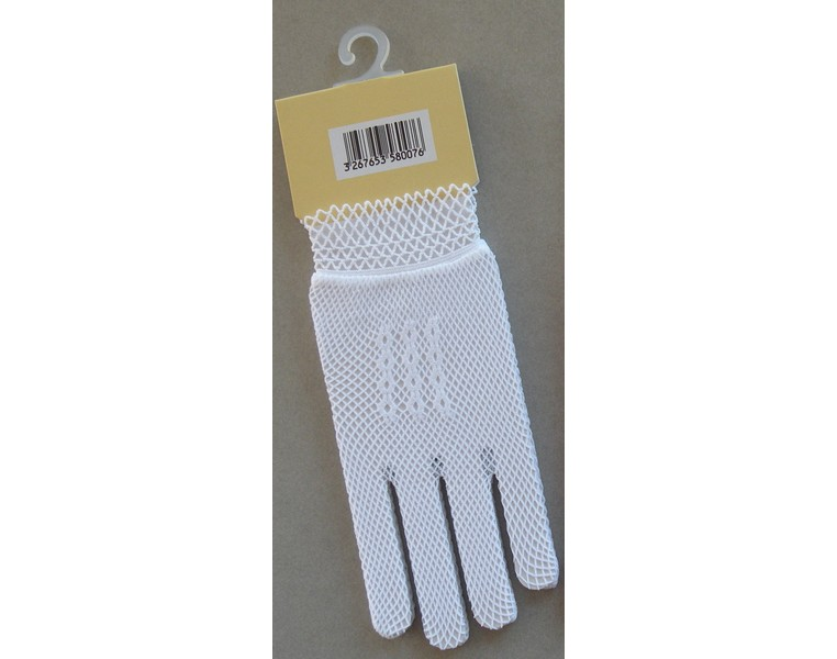 gant blanc enfant