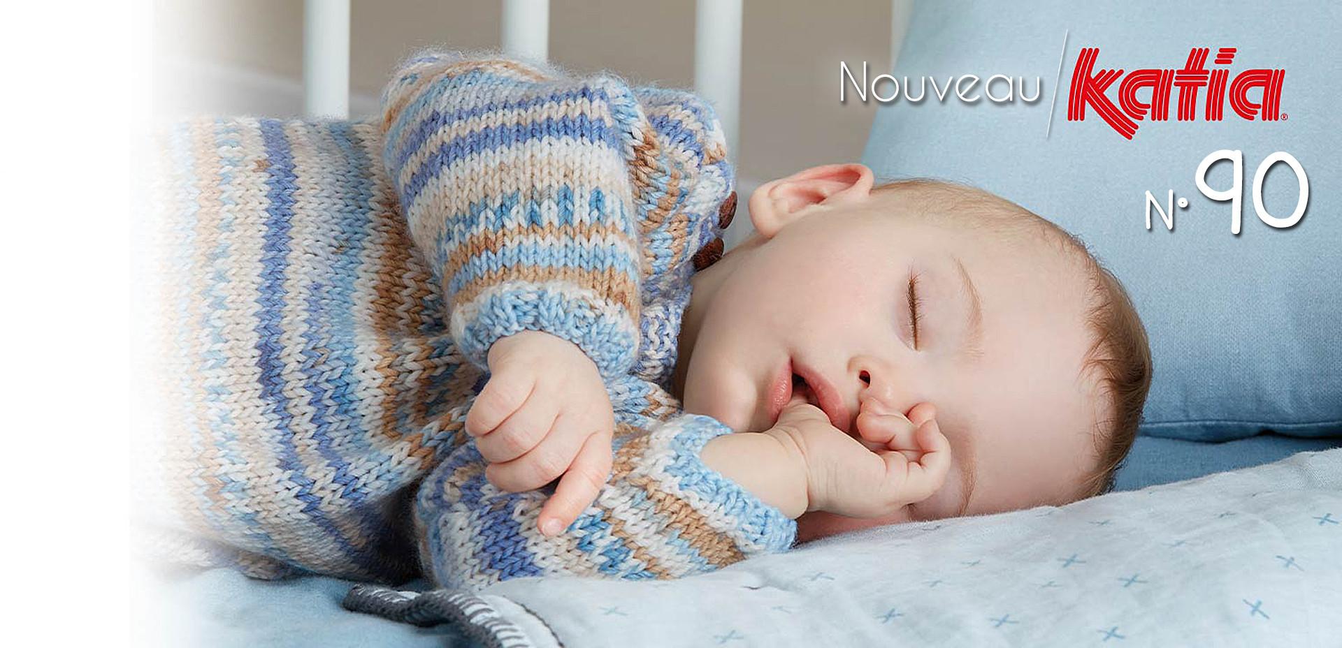 Magazine Katia N90 Créations pour bébé