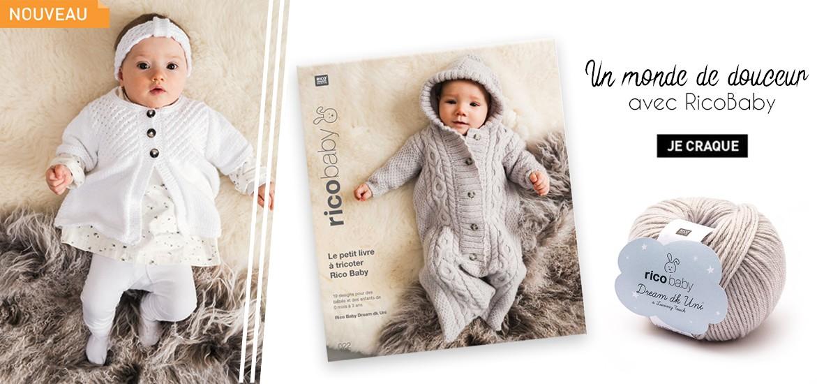 Nouveautés Rico Baby - Dream uni dk a luxury touch